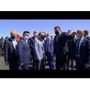 """Vizita premierului Florin Cîțu la șantierul """"Variantei de ocolire a municipiului Satu Mare"""""""